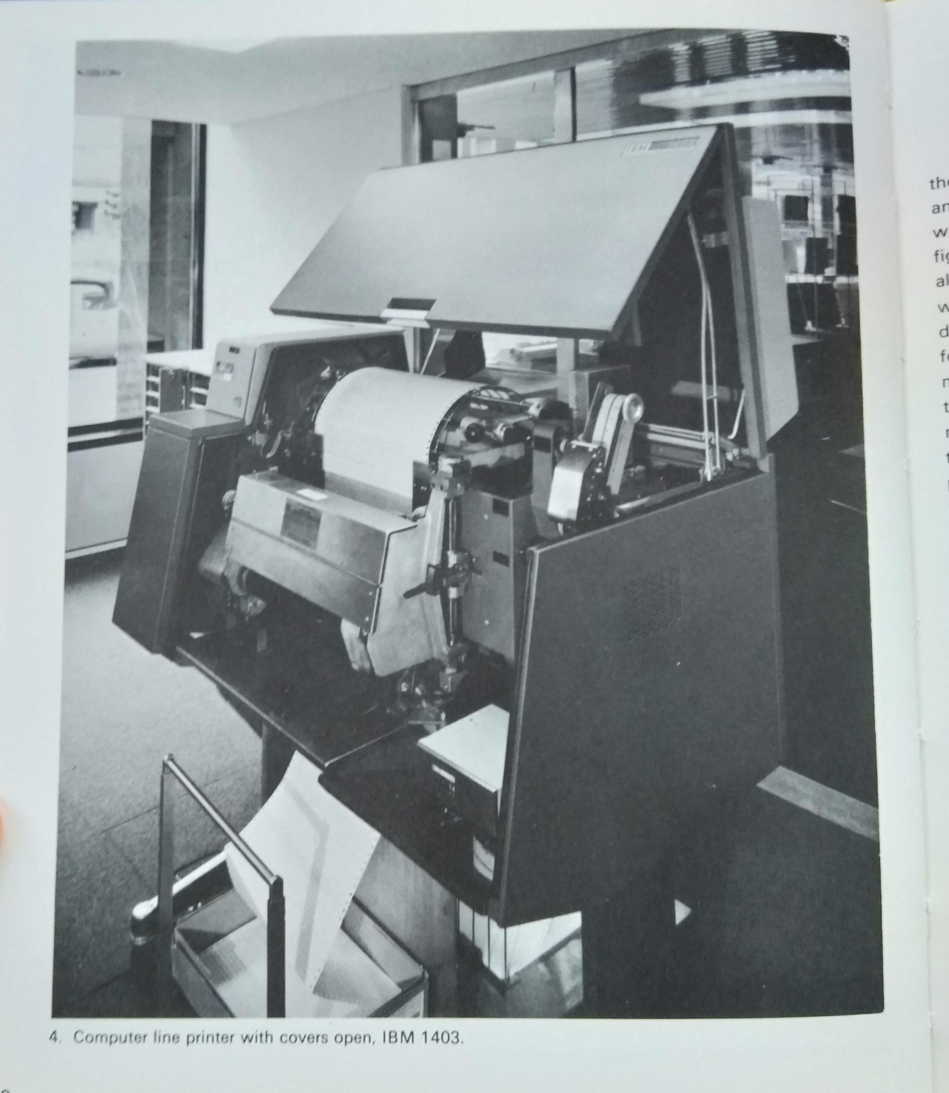 IBM 1403 line printer